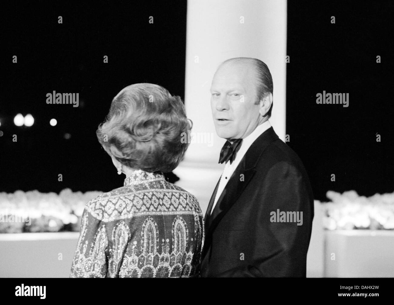 President Gerald Ford and First Lady Betty Ford - Stock Image