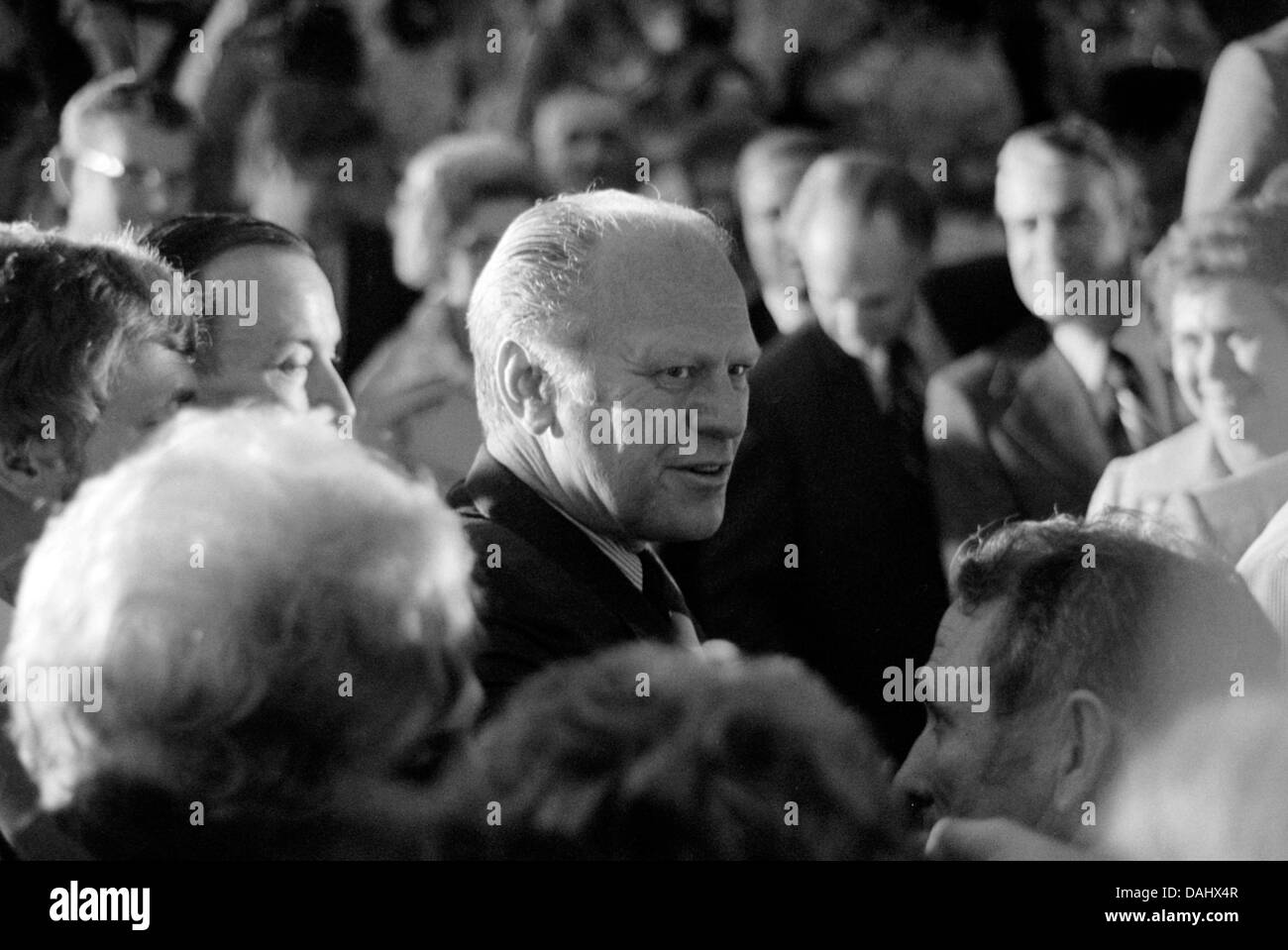 President Gerald Ford - Stock Image