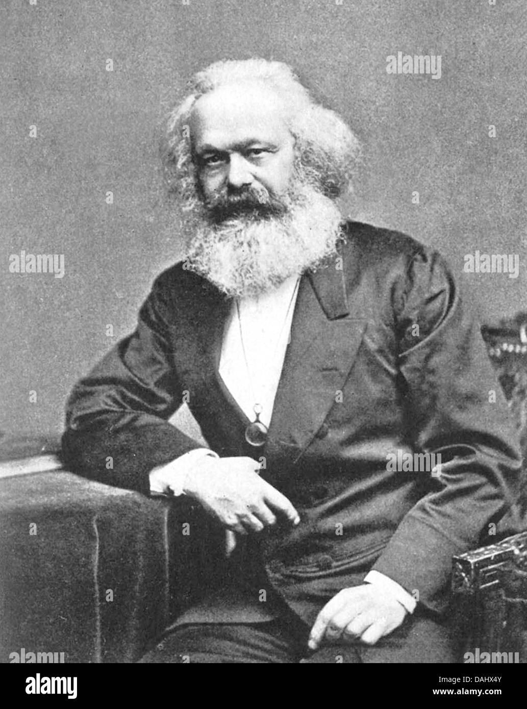 Karl Marx, Karl Heinrich Marx - Stock Image