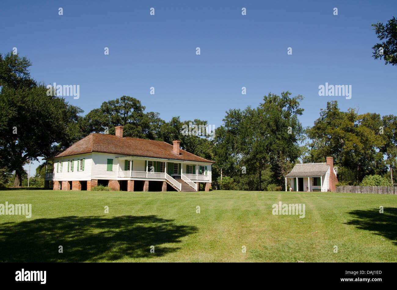Magnolia Mound Plantation, Baton Rouge, Louisiana, United ...