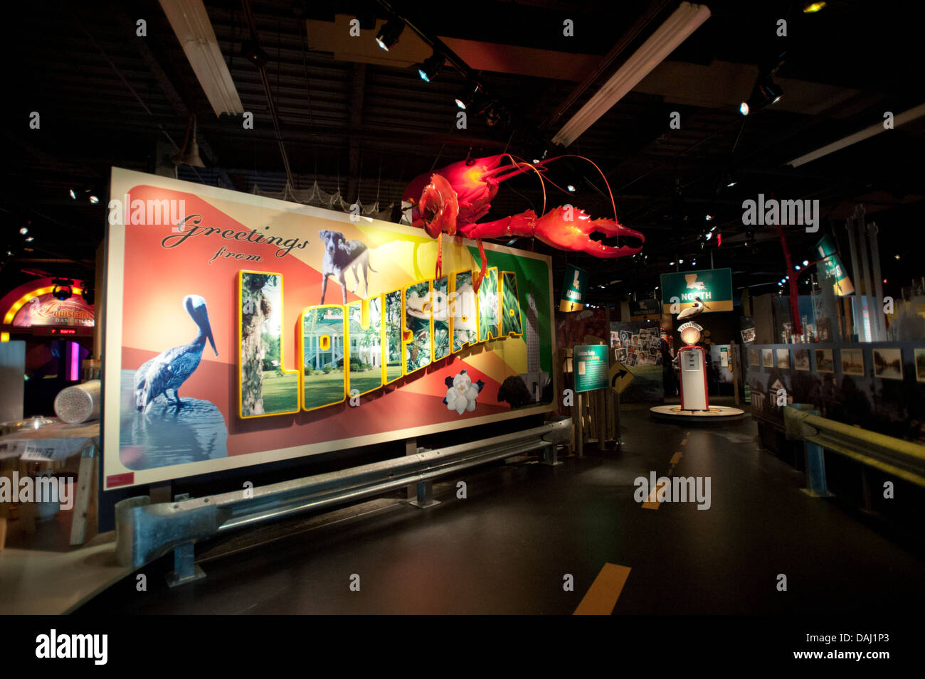 Louisiana State Museum, Baton Rouge, Louisiana, United States of America - Stock Image