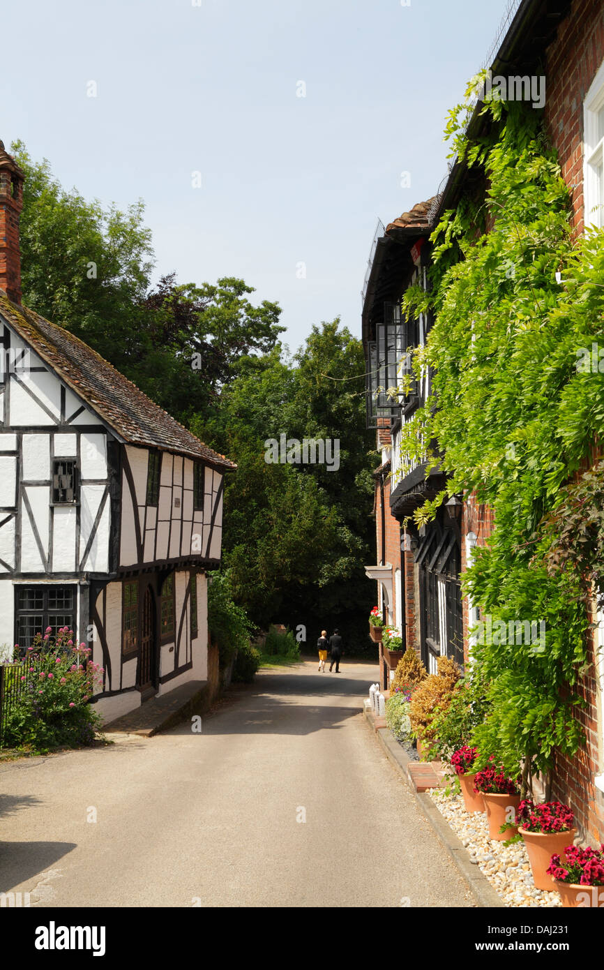 Chilham Village, Kent, England, UK, GB - Stock Image