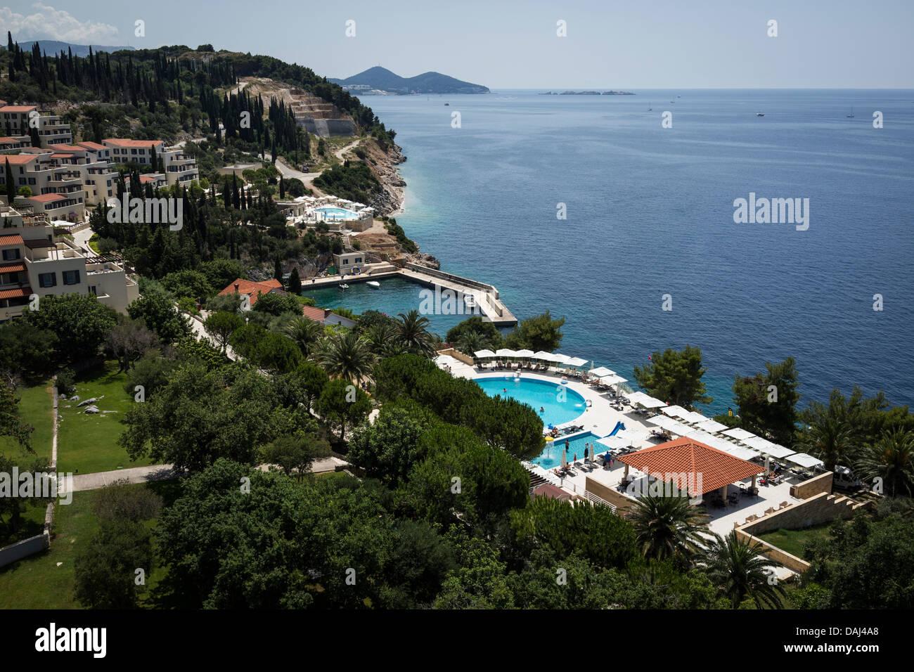 Radisson Blu Hotel Dubrovnik Stock Photo