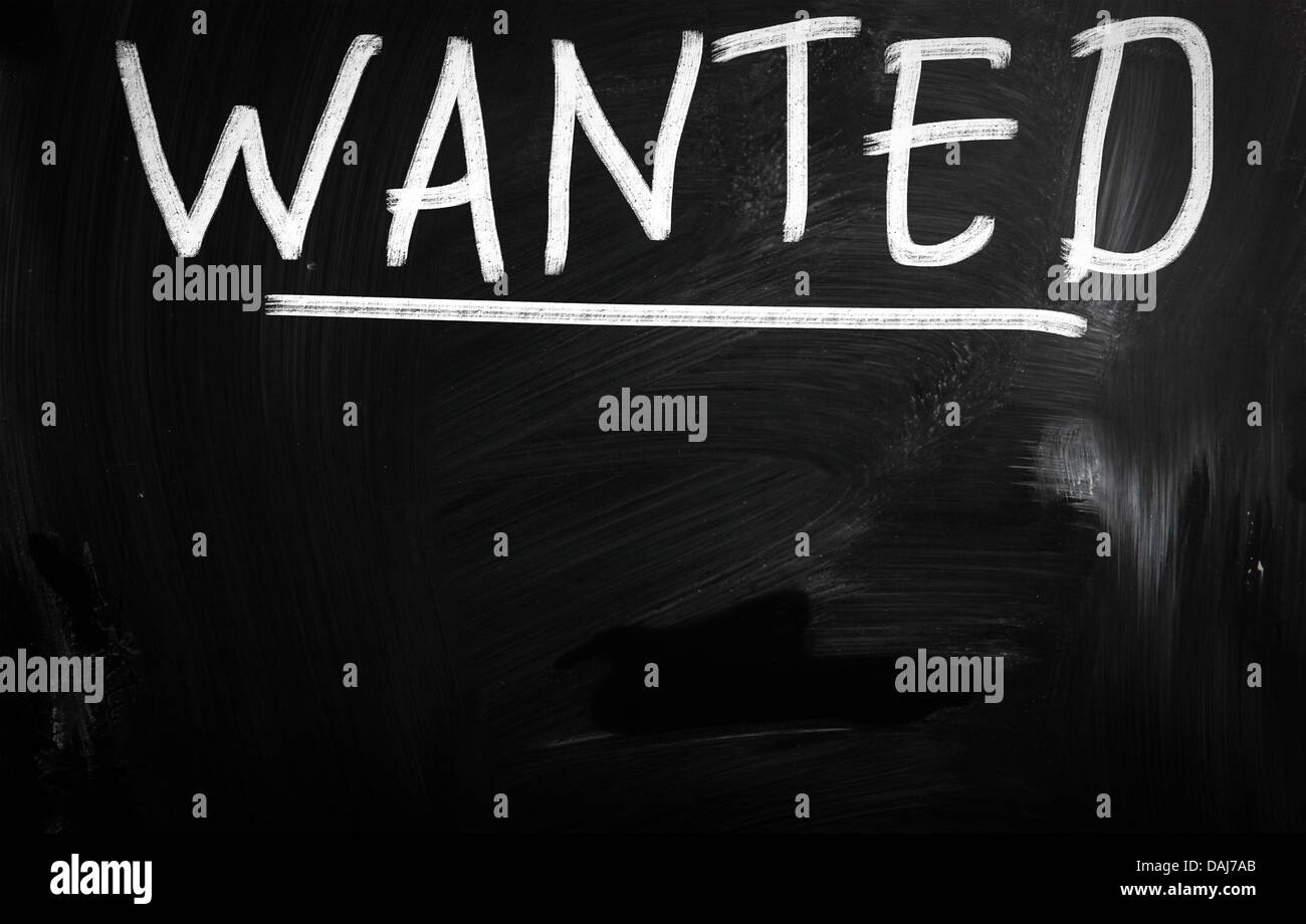 Wanted Poster Template Black And White Stock Photos Images Alamy