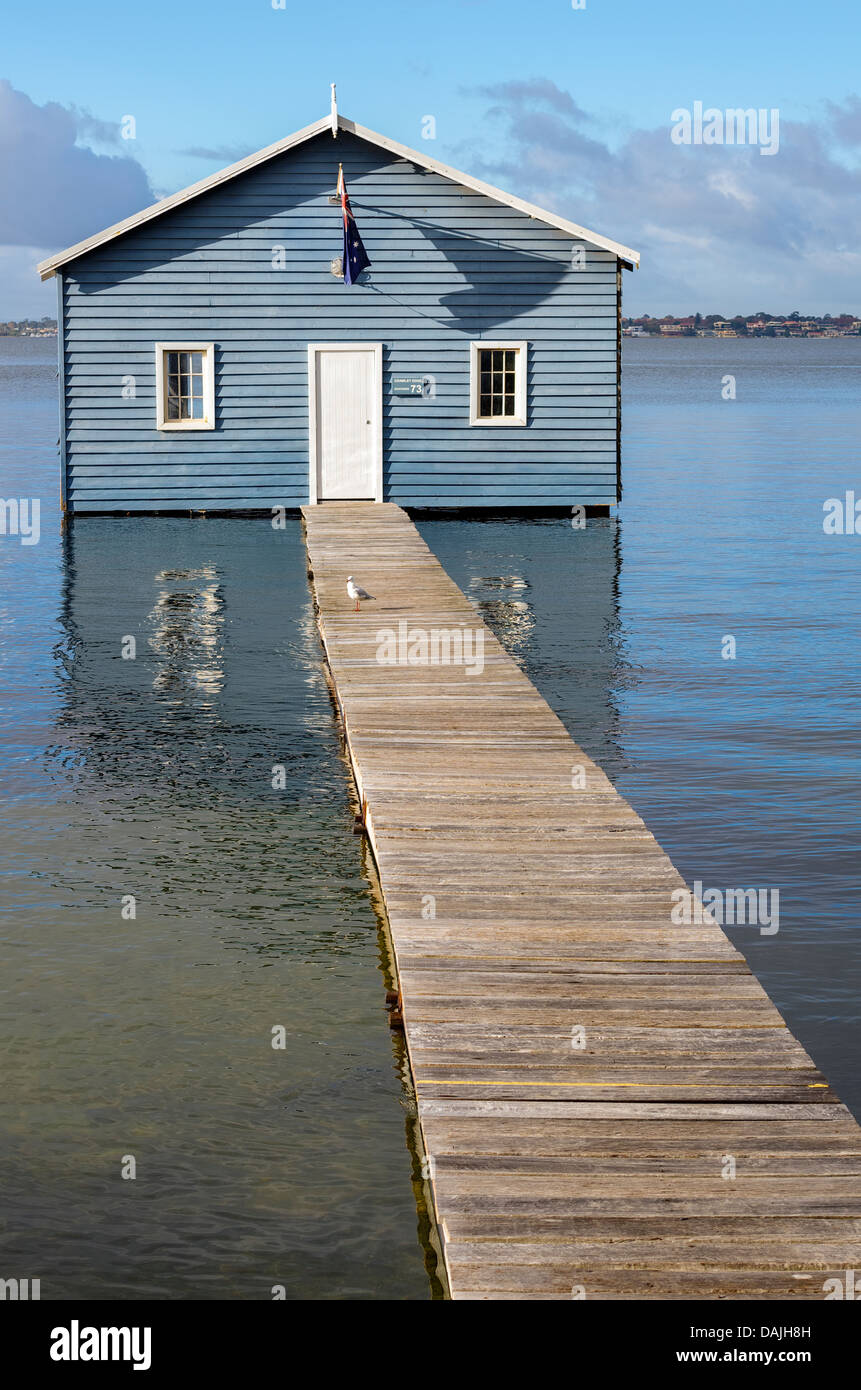 Crawley boat house, Perth, Western Australia. - Stock Image