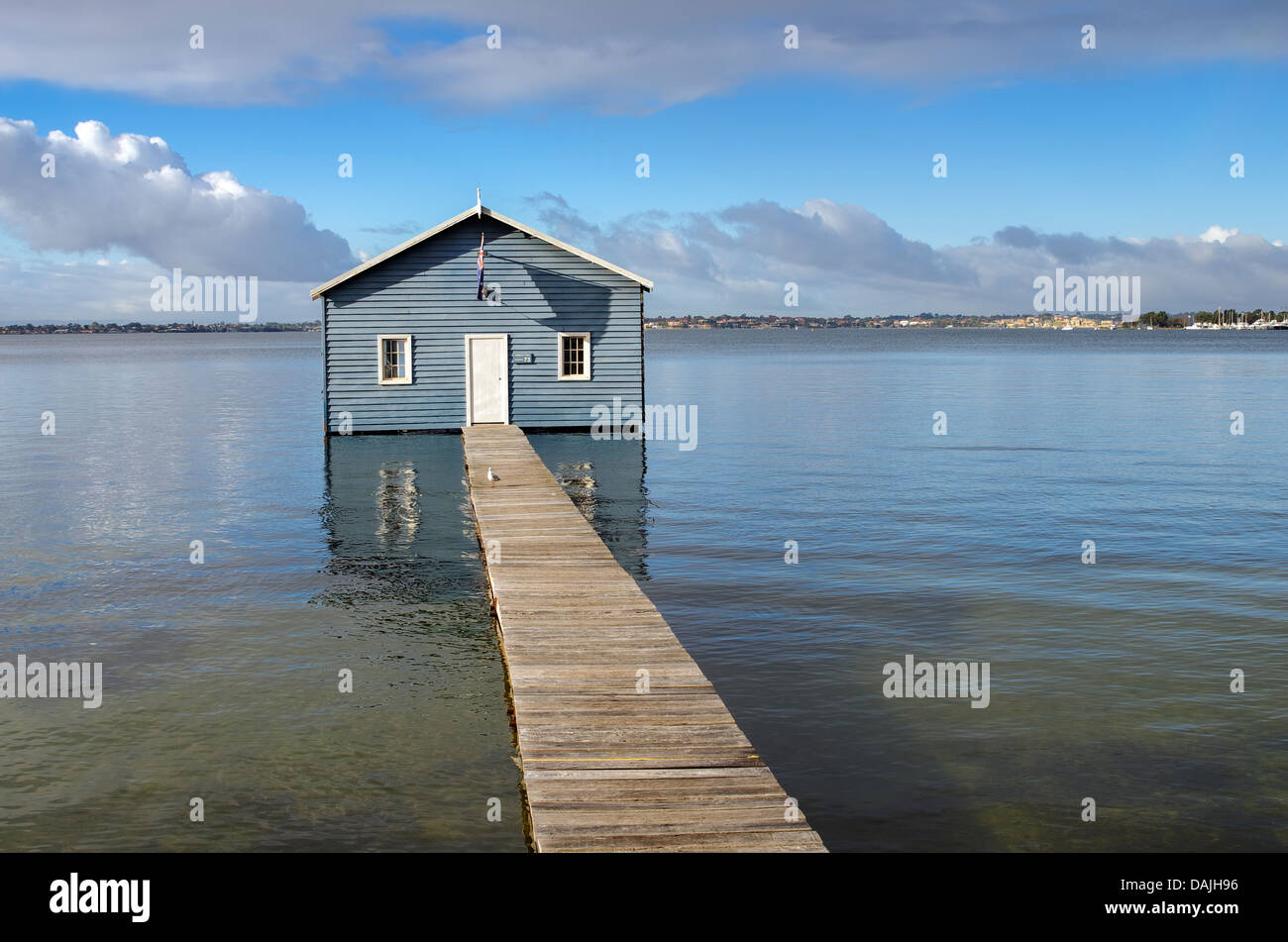 Crawley boat house, Perth Western Australia. - Stock Image