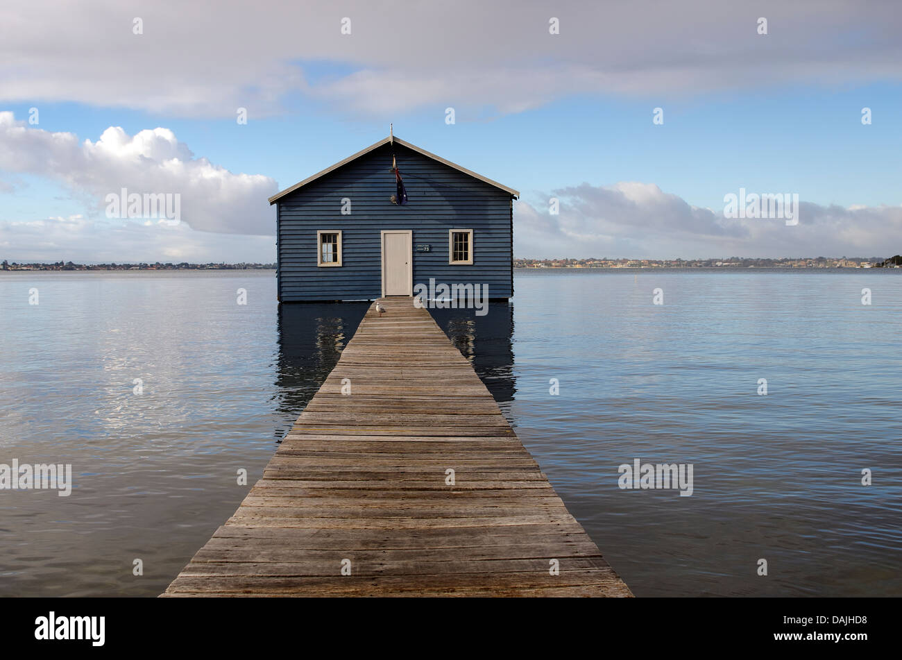 Crawley boat house, Perth, Western Australia - Stock Image