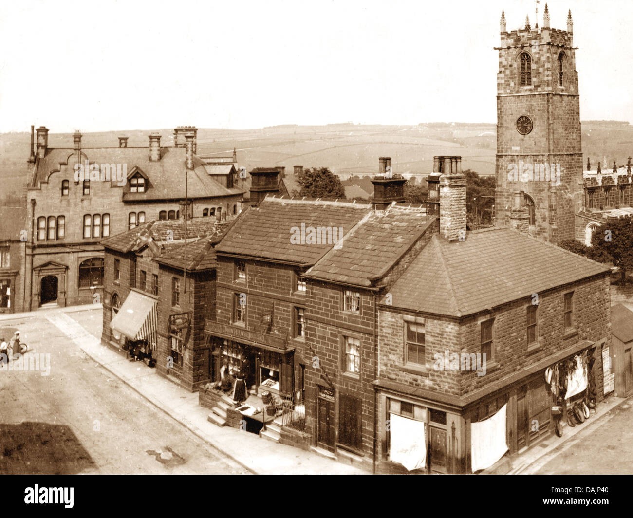 Penistone early 1900s - Stock Image