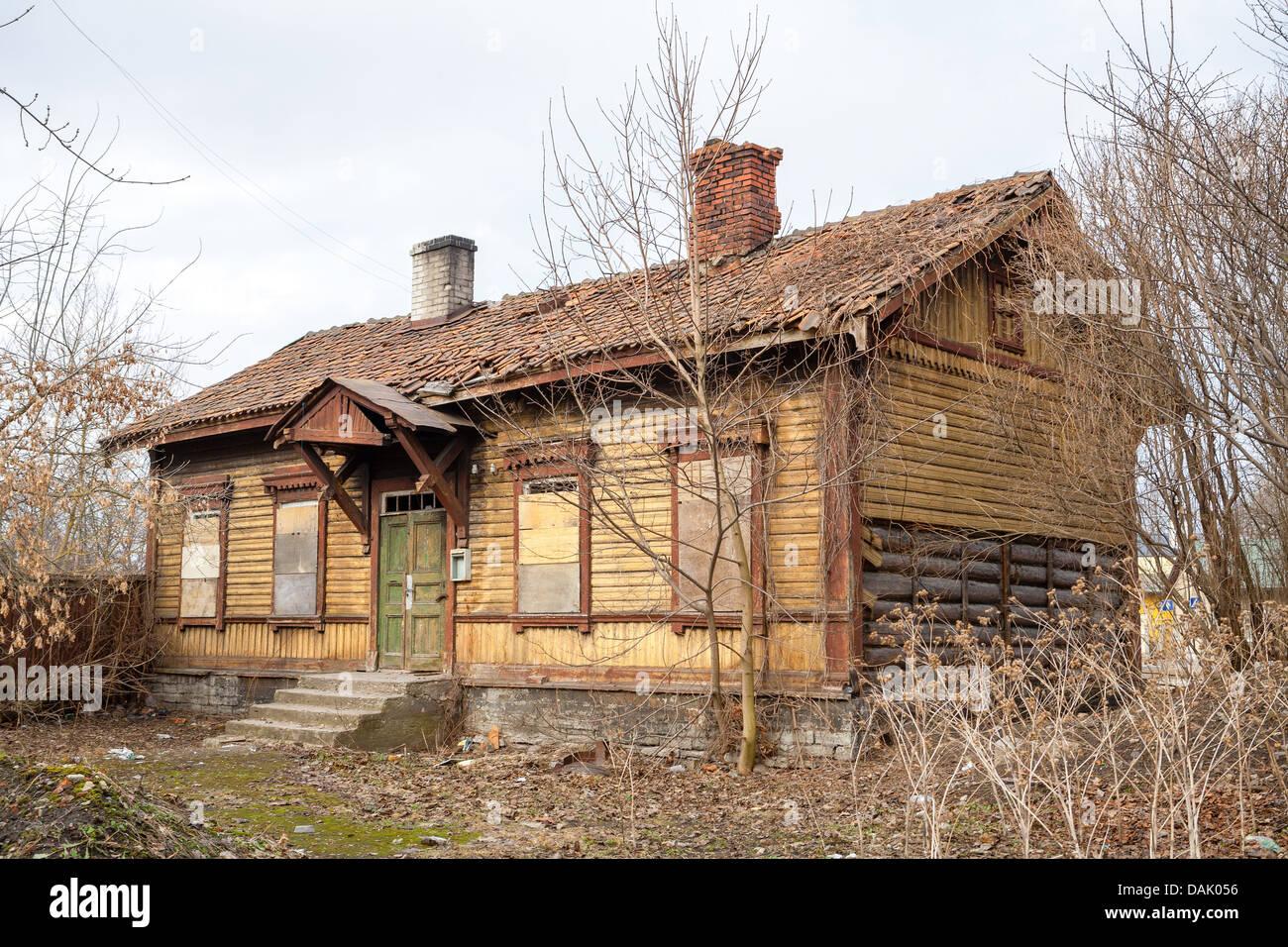 Abandoned house - Stock Image