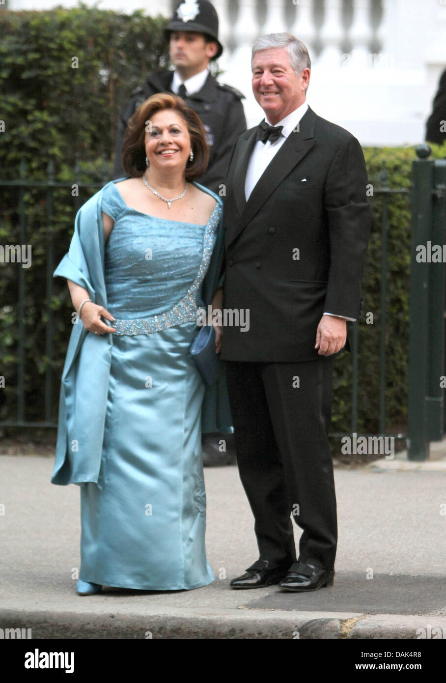 Princess Katherine ,and Prince Alexander of Yugoslavia arrive for a ...