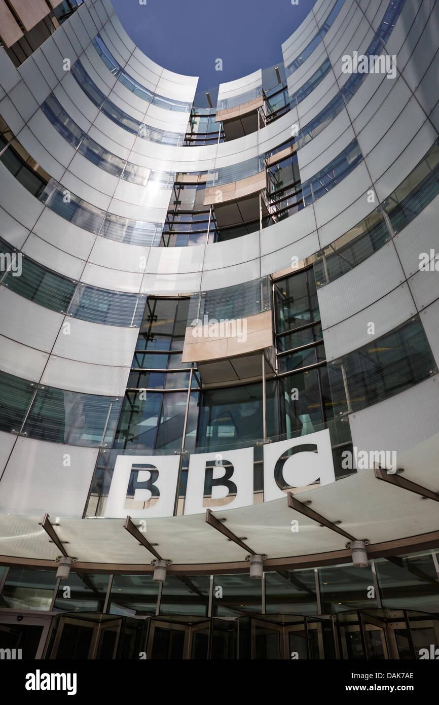 new bbc broadcasting house london, england uk - Stock Image