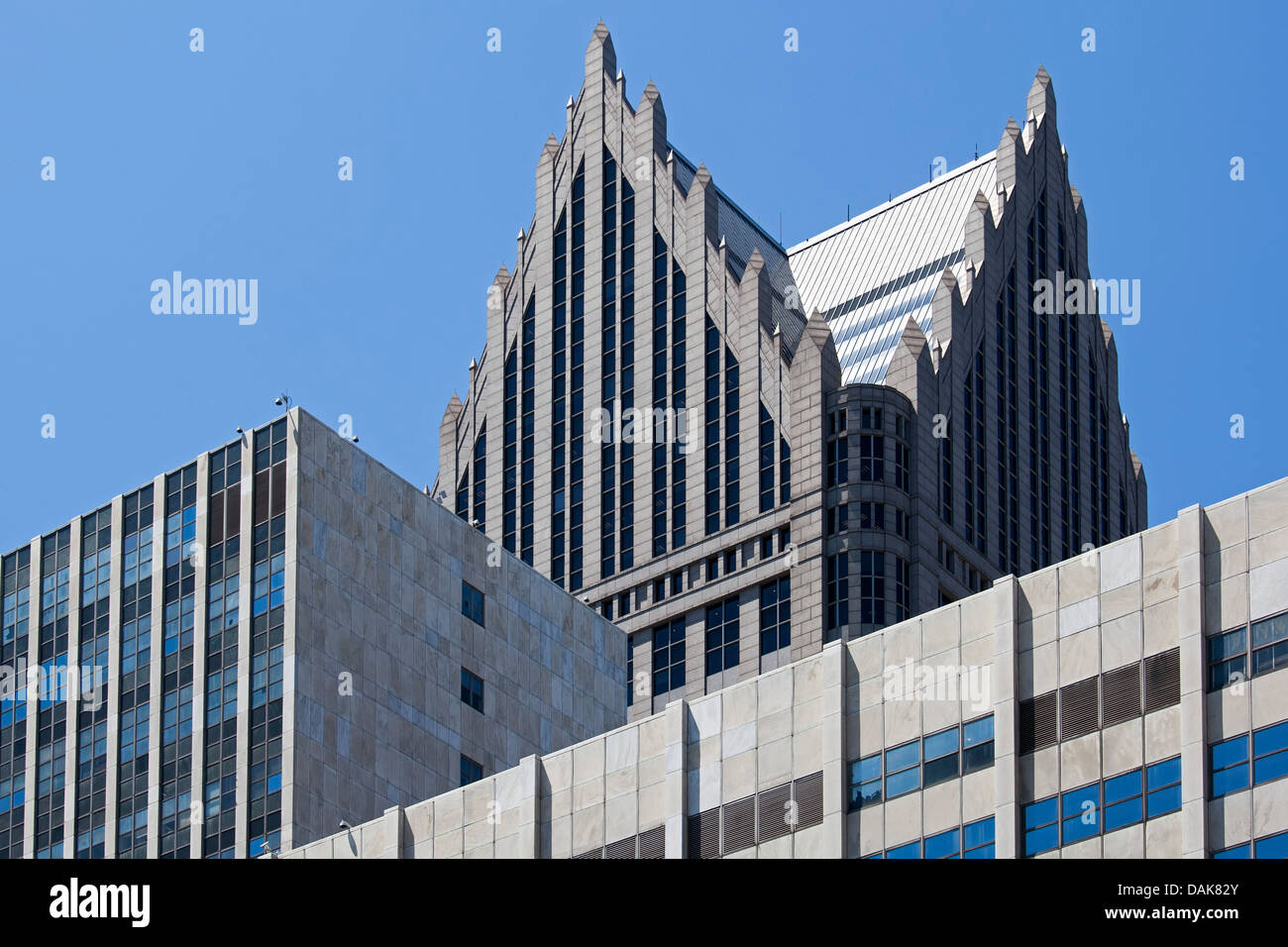 Detroit - Stock Image