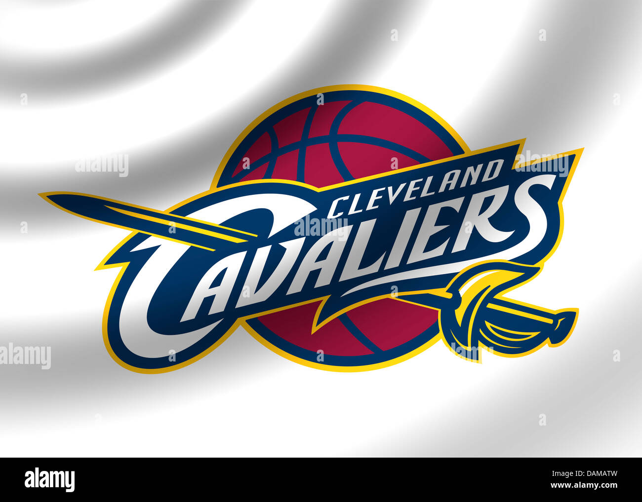 Cleveland Cavaliers Logo Symbol Icon Stock Photos Cleveland