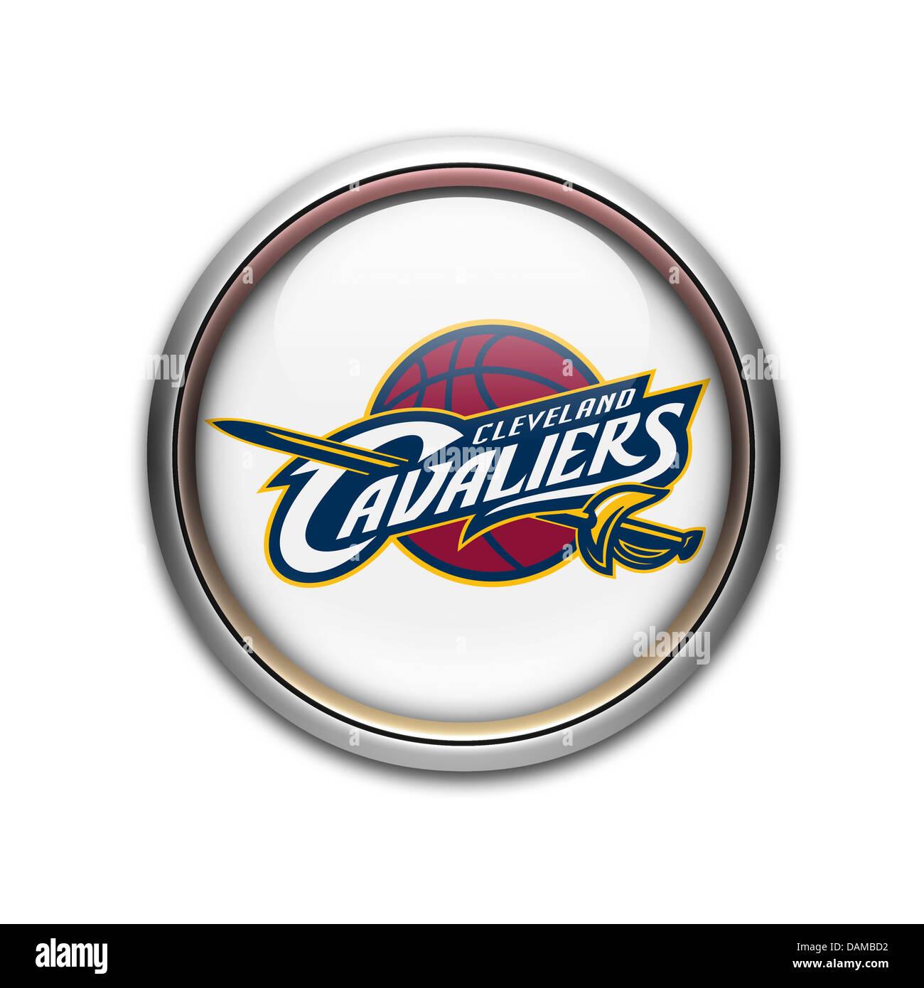 Cleveland Cavaliers Logo Symbol Icon Flag Emblem Stock Photo