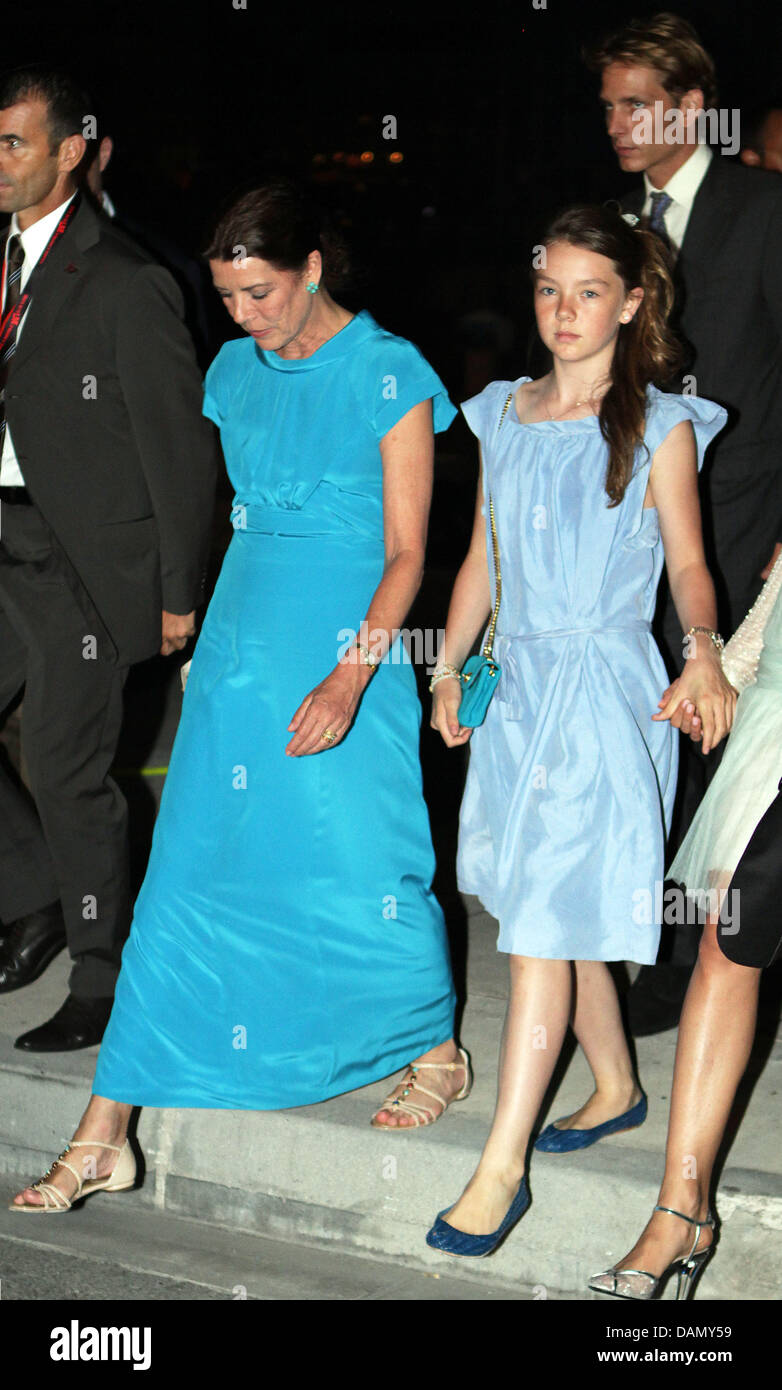 princess caroline of hanover with her daughter princess