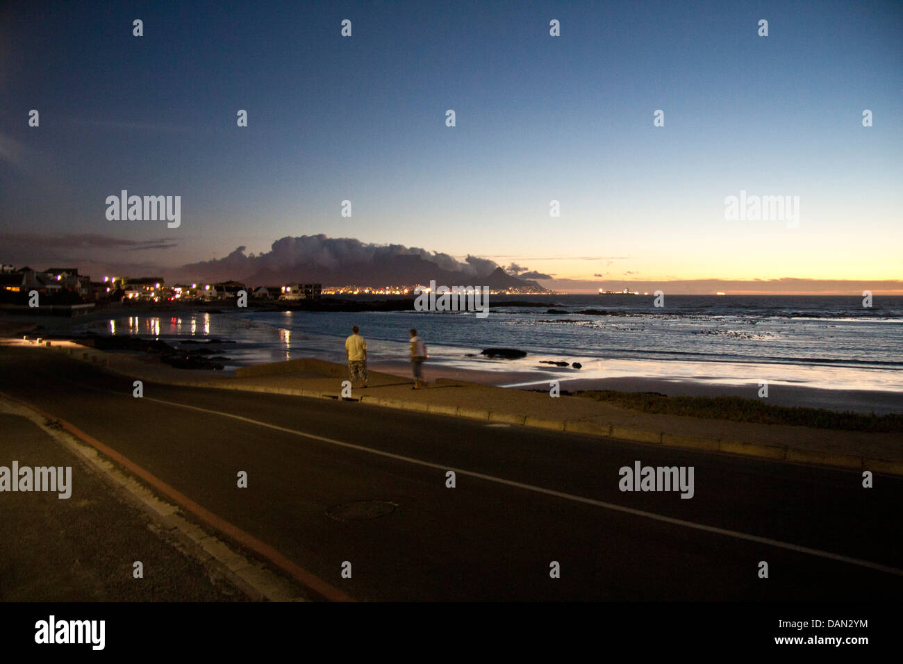 bloubergstrand, cape town, western cape, south africa - Stock Image