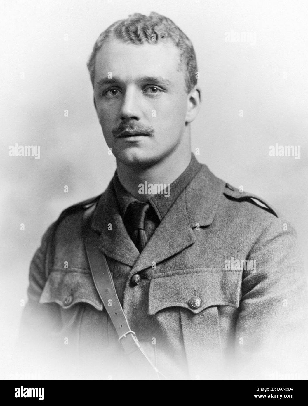RONALD VICTOR BODLEY (1892-1970) British army officer and author about 1915 - Stock Image