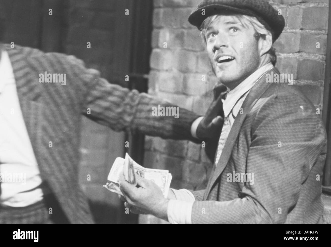 Robert Redford,the sting 1973 - Stock Image
