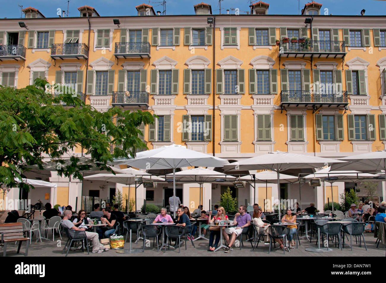 restaurant place garibaldi nice french riviera cote d 39 azur france stock photo 58244845 alamy. Black Bedroom Furniture Sets. Home Design Ideas