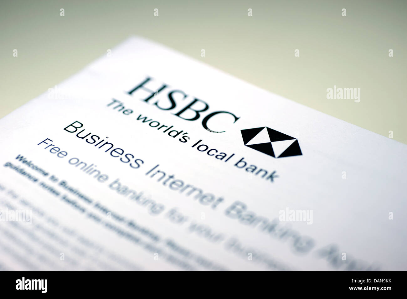 Online Banking Security Hsbc Stock Photos & Online Banking Security