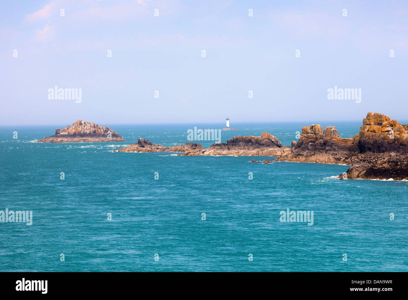 Pointe du Grouin, Cancale, Brittany, France - Stock Image