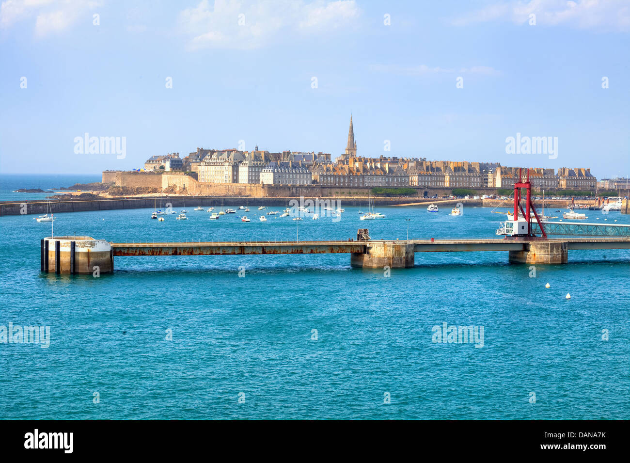 Saint-Malo, Brittany, France - Stock Image