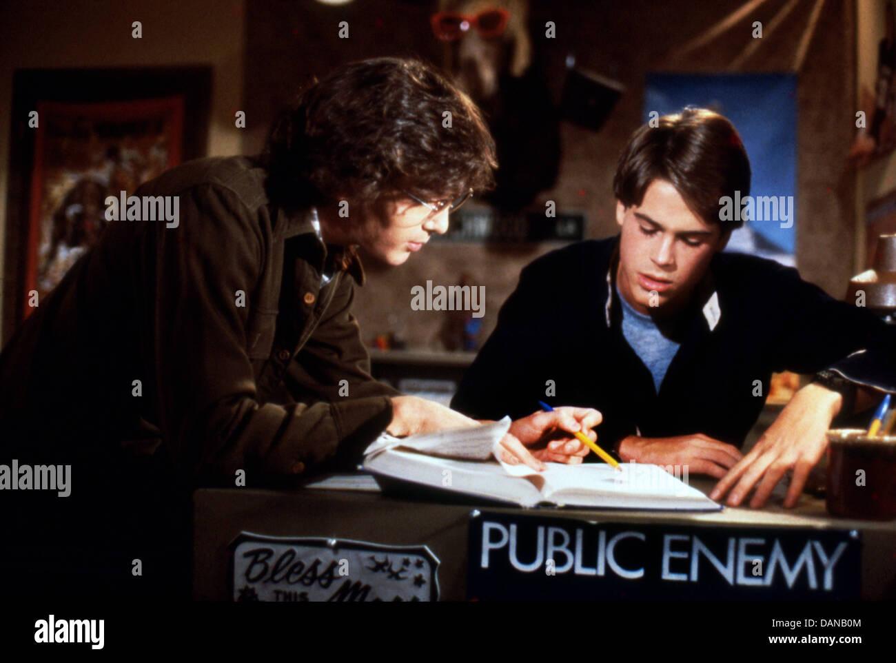 CLASS (1983) ANDREW MCCARTHY, ROB LOWE, LEWIS JOHN CARLINO (DIR) CLS 011 MOVIESTORE COLLECTION LTD - Stock Image