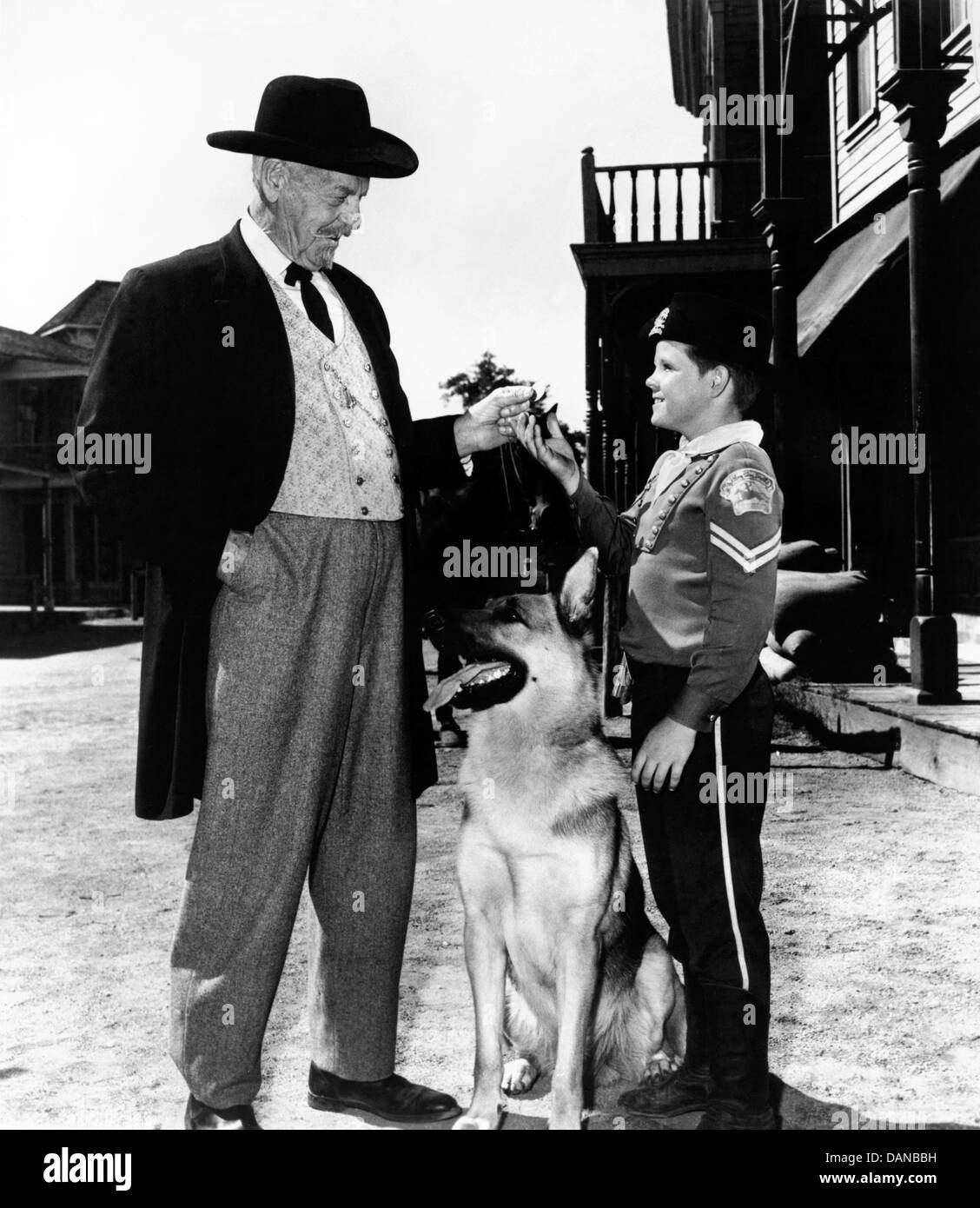 THE ADVENTURES OF RIN TIN TIN (TV) (1954 - 1959) THURSTON HALL, LEE ACKER AORT 004 MOVIESTORE COLLECTION LTD Stock Photo