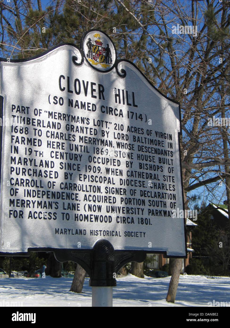 Baltimore clover Weather presenter