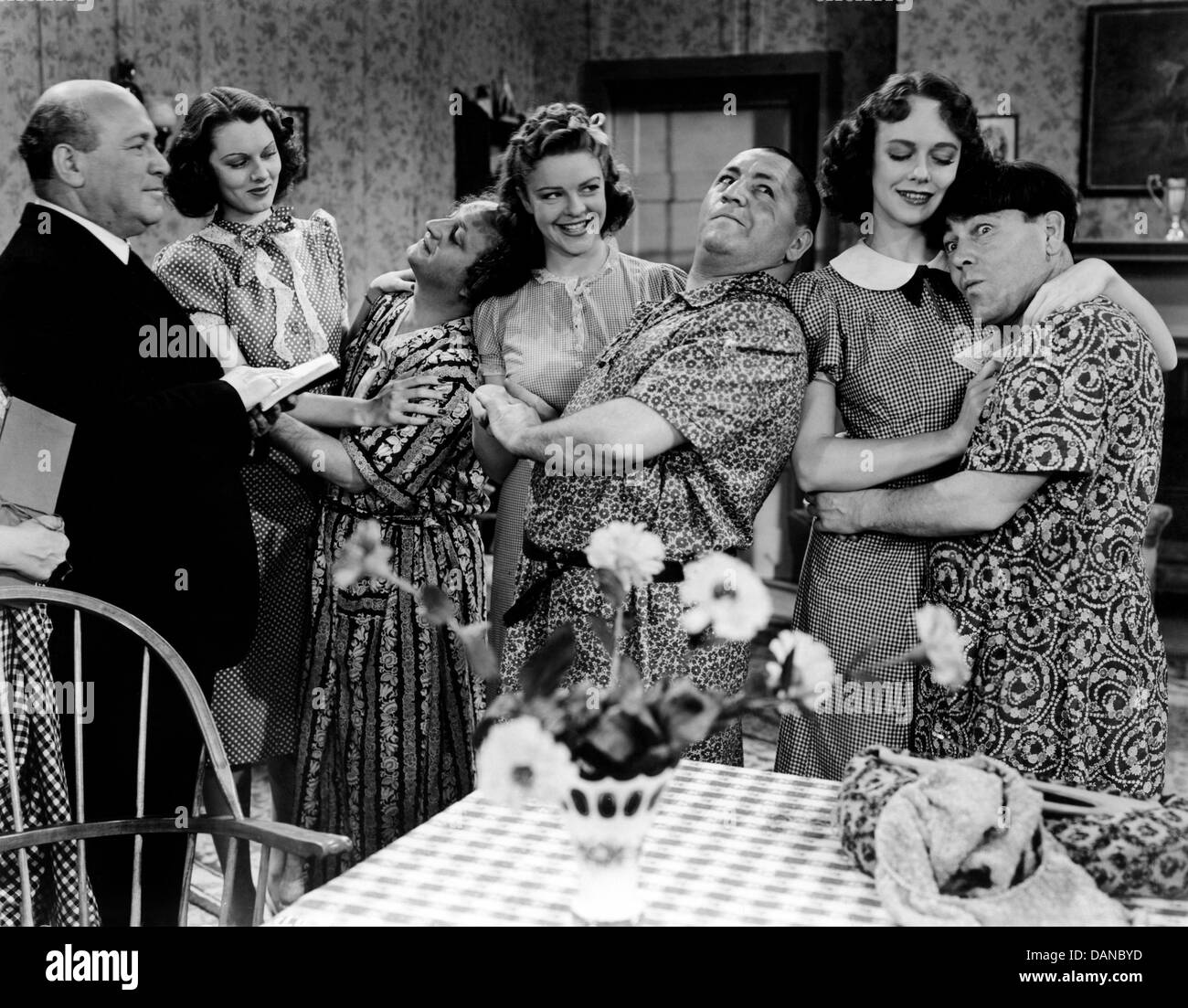Image result for images of moe howard disguised as woman