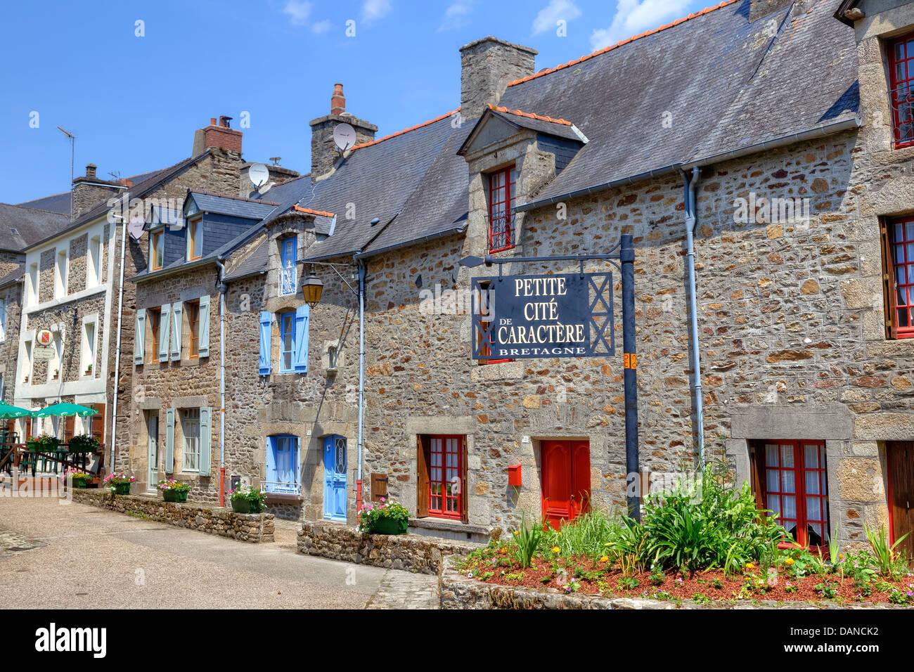 Lehon, Brittany, France - Stock Image