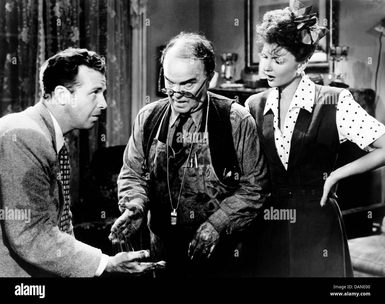 TRUE TO LIFE (1943) GEORGE MARSHALL (DIR) TRTL 001 - Stock Image