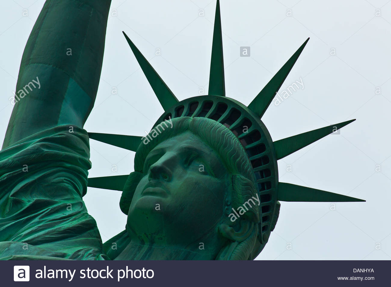 Statue of Liberty Liberty Island New York NY 2013 - Stock Image