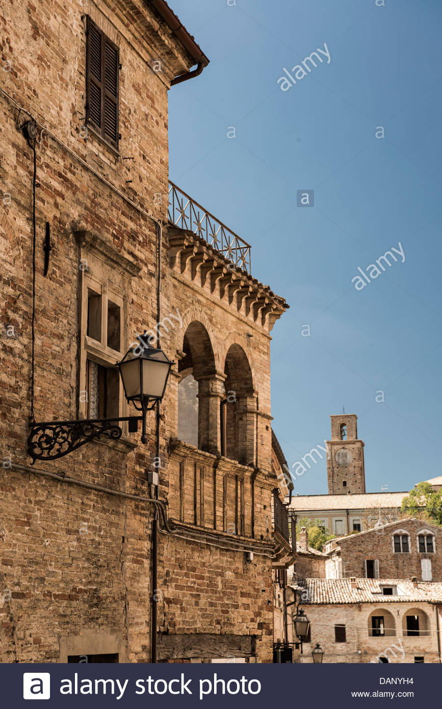 Italy, View of Italian building - Stock Image