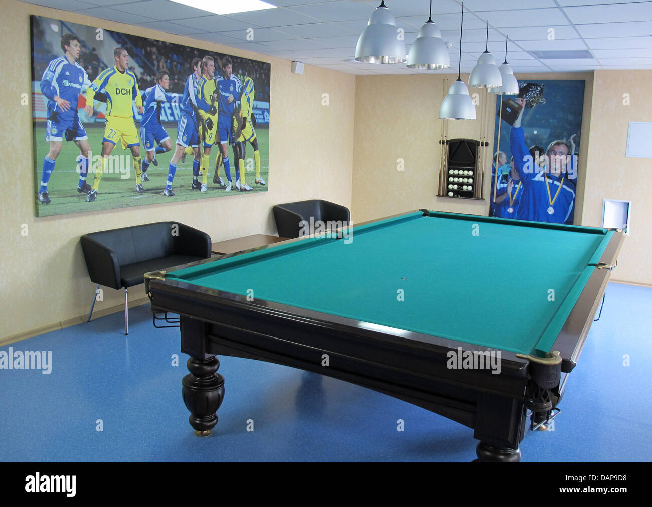 Billiards in Donetsk