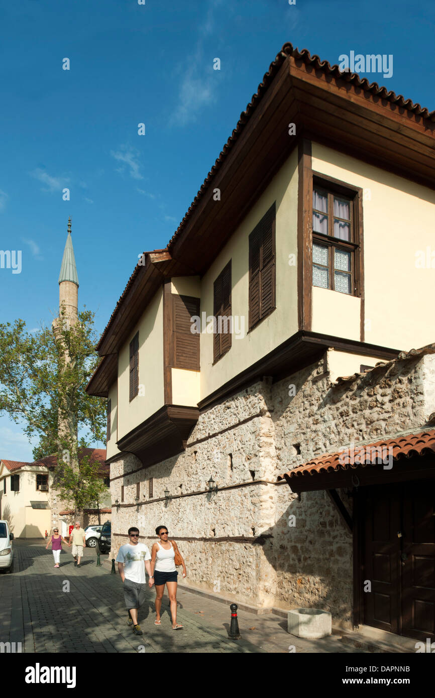 Türkei, Antalya-Stadt, Altstadt, - Stock Image