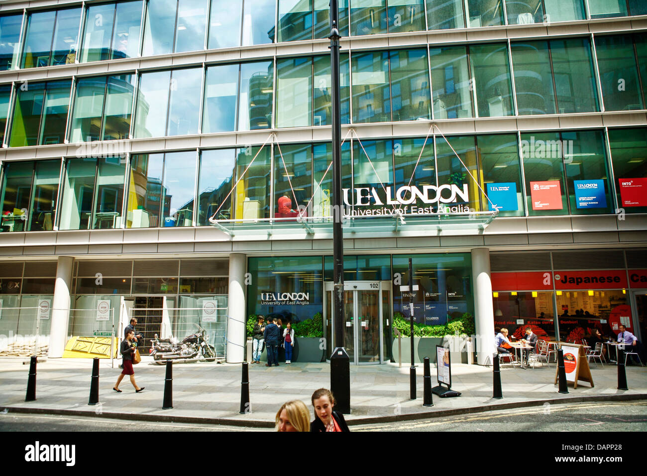 UEA London London UEA University of East Anglia - Stock Image