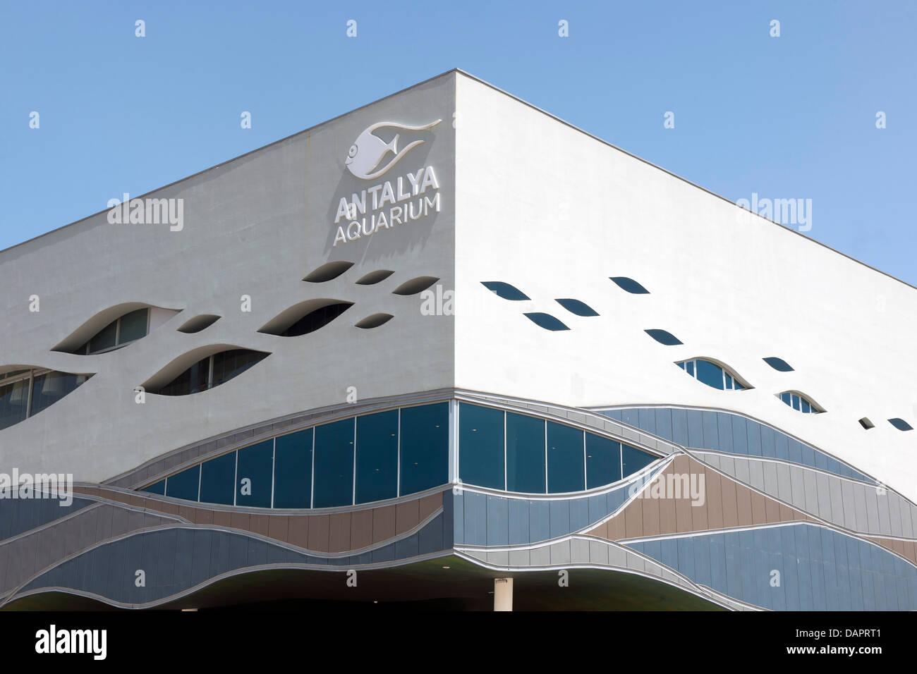Türkei, Antalya-Stadt, Antalya Aquarium, zweitgrösstes Aquarium Europas - Stock Image