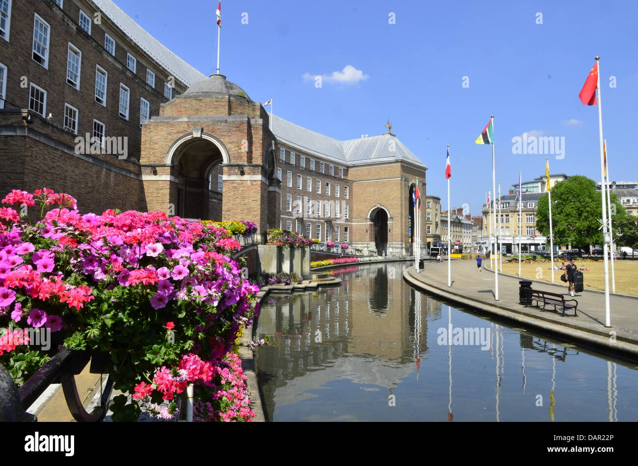 City Hall Bristol in the UK - Stock Image