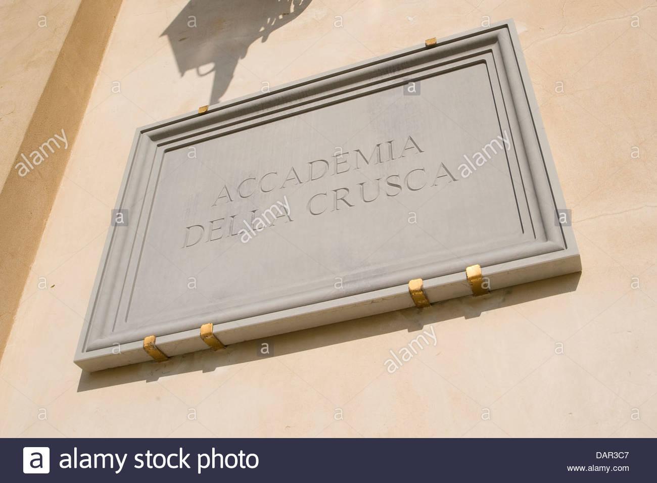 villa di castello,Accademia della crusca,florence,tuscany,italy - Stock Image