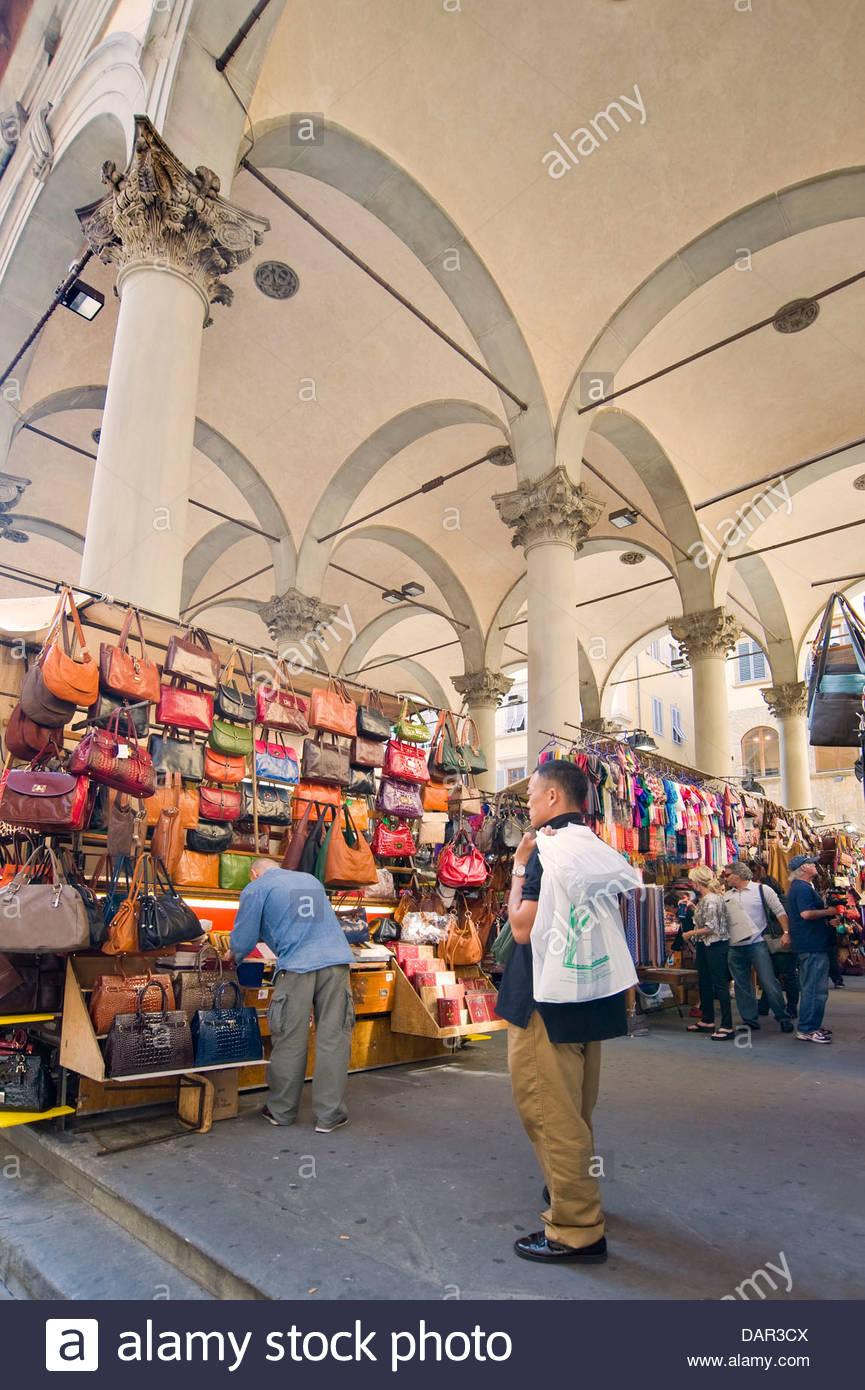 Loggia del Porcellino,florence,tuscany,italy - Stock Image