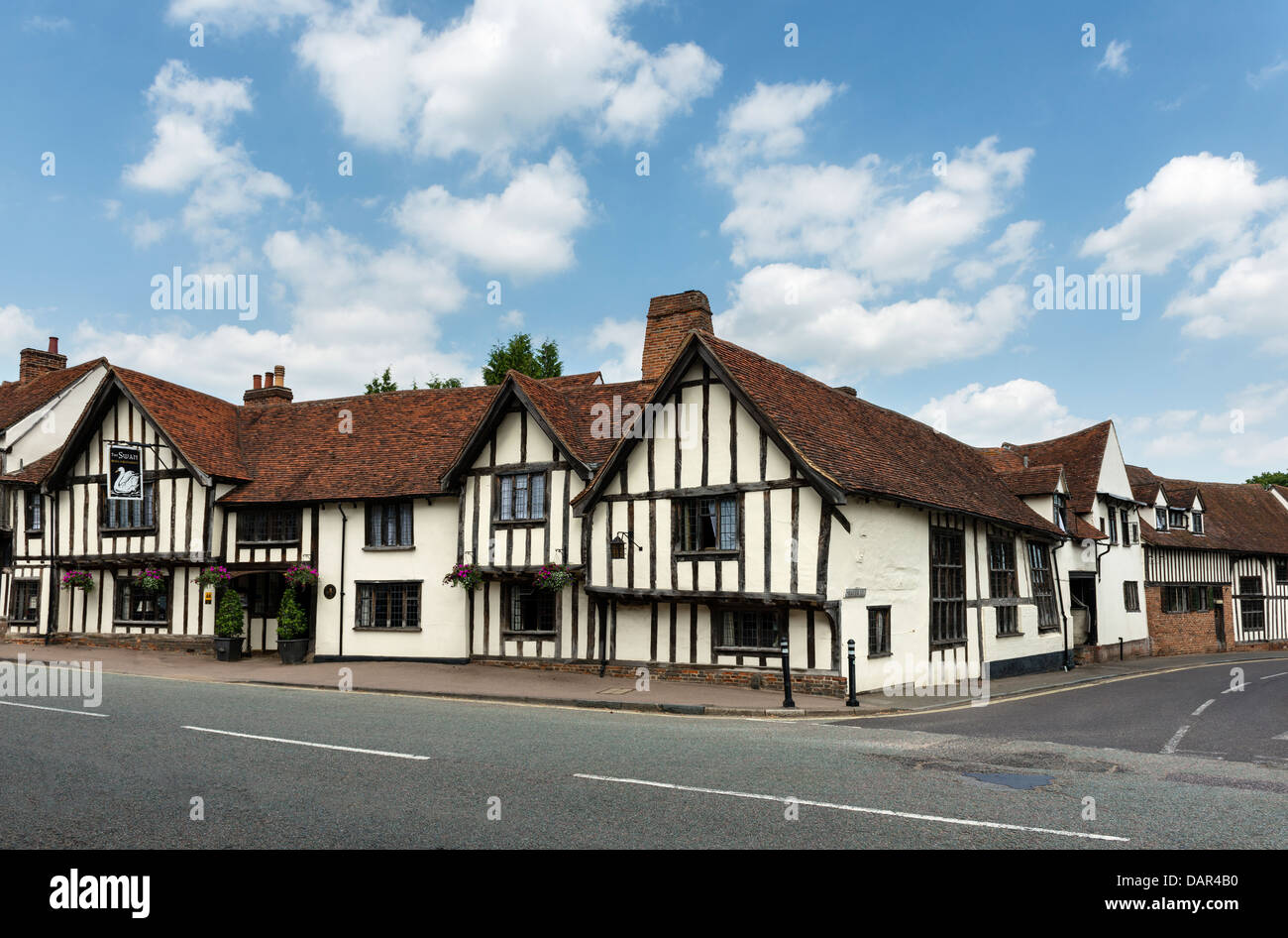 The Swan Lavenham - Stock Image