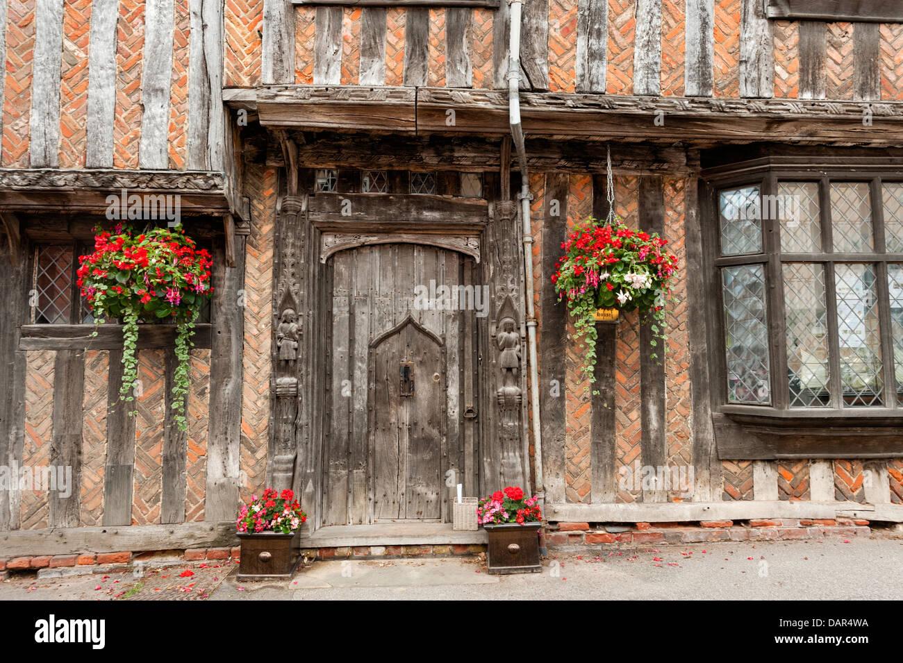 De Vere House Lavenham - Stock Image