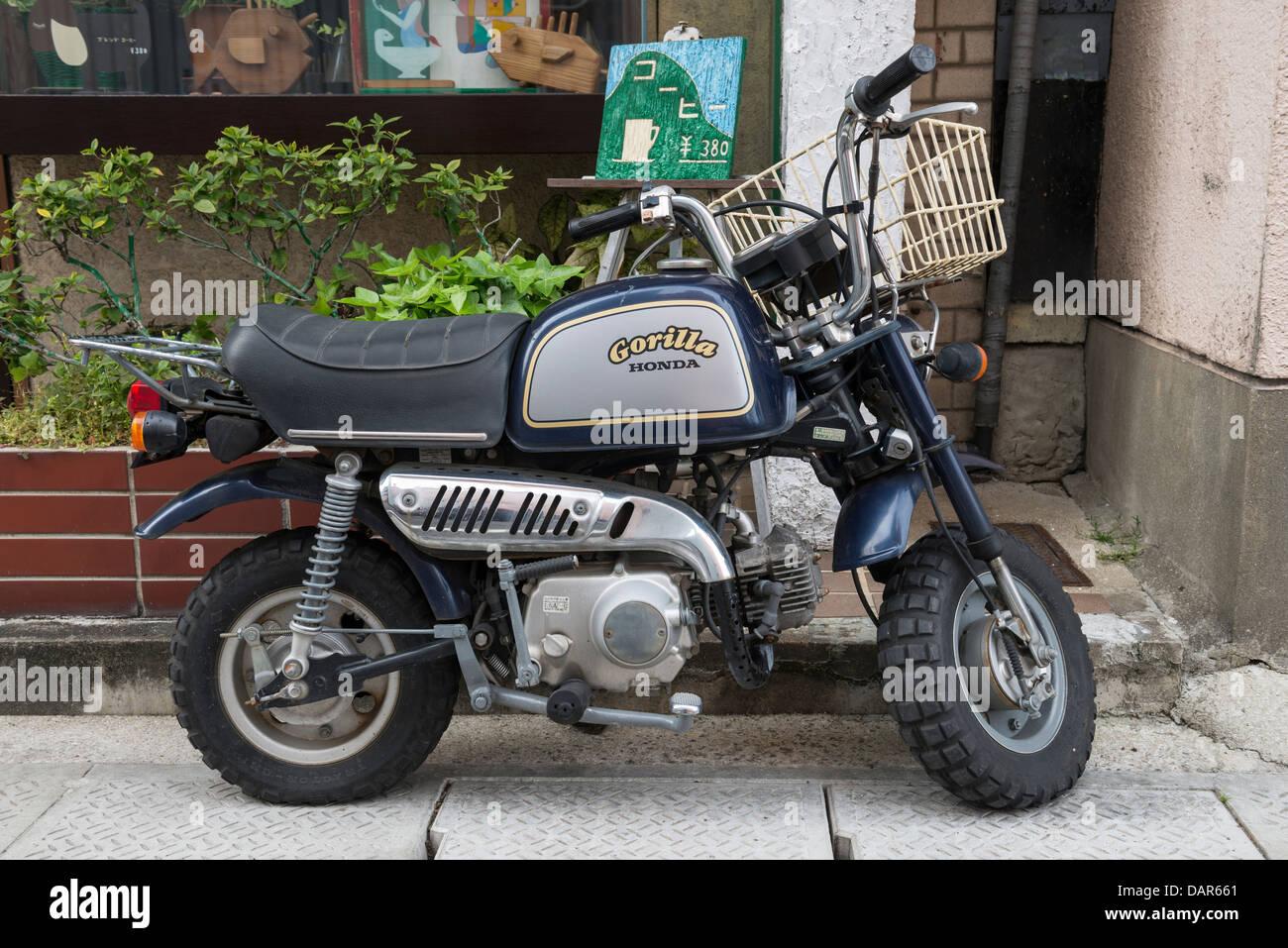 Honda Motorcycle Japan Stock Photos Motorcycles Designs Gorilla Z Series Nagasaki Image