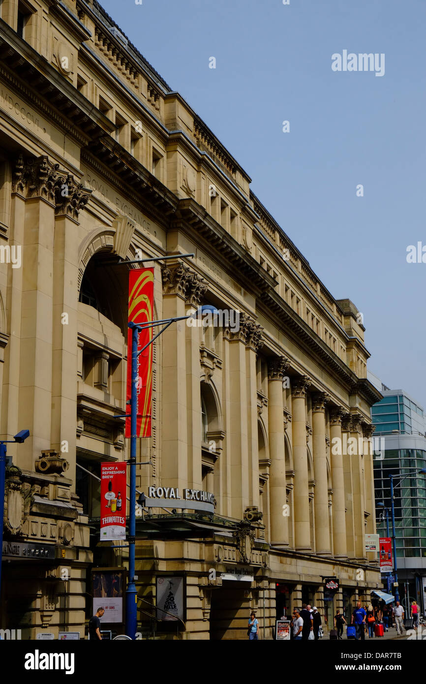 England, Manchester, The royal Exchange Theatre - Stock Image