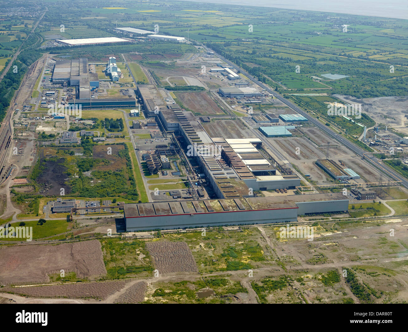 Llanwern Steelworks, Newport South Wales, UK - Stock Image