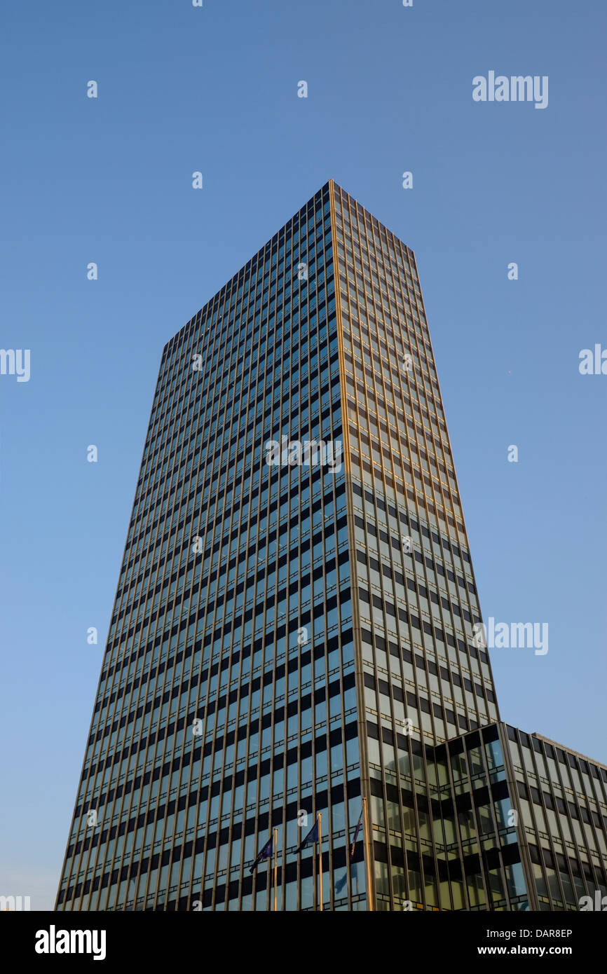 England, Manchester, old Co-op headquarters building - Stock Image