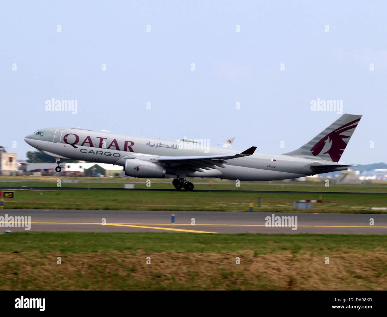 A7-AFZ Qatar Airways Cargo Airbus A330-243F - cn 1406 3