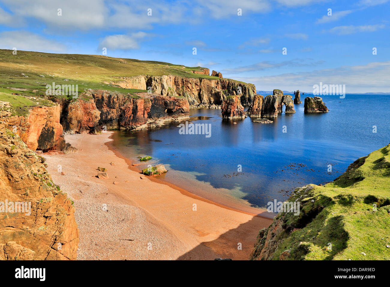 Braewick; Eshaness; Shetland; UK - Stock Image