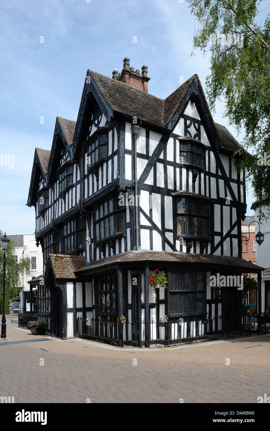 OLD MERCHANT HOUSE. HEREFORD. ENGLAND. UK